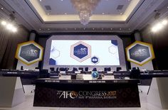 Pico was the official contractor for two events at global level in May in Bahrain: The Asian Football Confederation's Congress and the FIFA Congress.