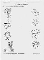 Free printable preschool worksheets to help prepare your child for school. Our preschool worksheets are great for busy teachers, parents, and homeschoolers. Preschool Weather, Weather Activities, Free Preschool, Preschool Lessons, Preschool Learning, Science Activities, Preschool Themes, Science Books, Teaching Weather