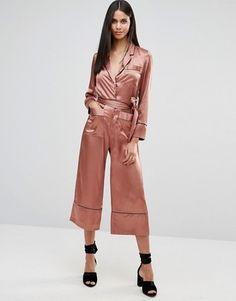 Blush + Silk + Pajamas = Perfection