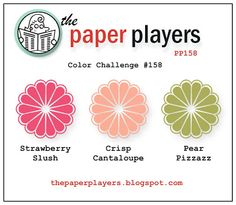 The Paper Players: Paper Players #158 - Color Challenge from Sandy