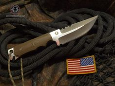 Relentless Knives M9 Raptor 3V steel Military Survival knife