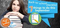 7 things to do this September: back-to-school checklist for your dyslexic child