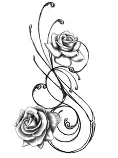 Rose Tattoo Designs For Girls Smaller Tribal Tattoo Designs Trendy Tattoos, Love Tattoos, Beautiful Tattoos, Body Art Tattoos, Heart Tattoos, Tatoos, Awesome Tattoos, Rest In Peace Tattoos, Elegant Tattoos