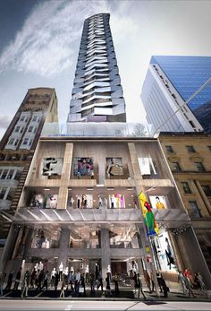 Mixed Commercial / Residential proposal for 379-383 George St, Sydney CBD