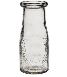 Milk bottle (5.5 inches) Fun for candy decor or hot chocolate!