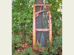 Adirondack Rustic Interiors - If I had a cabin, this would be my screen door!
