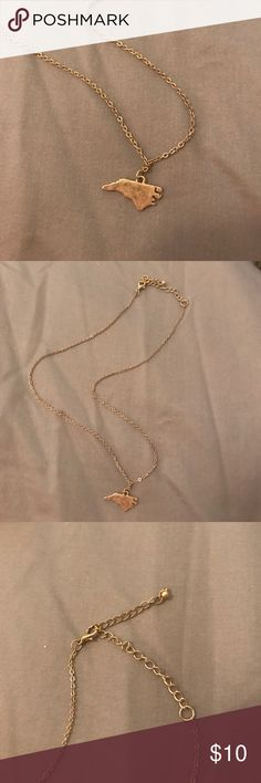 North Carolina Pendent necklace Multiple length options Jewelry Necklaces