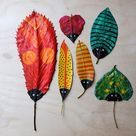 Autumn art activities for children #artactivitiesforkids  #kidsactivities #artactivities ages 6-7 FA.1.24 Express feelings about art work. FA.1.25 Wonder about or ask questions about works of art.