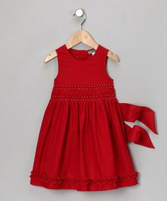 A fabulous party dress is a must-have during the holiday season. Perfect for outings to The Nutcracker and pictures with Santa, this festive frock is sure to become a fast favorite.