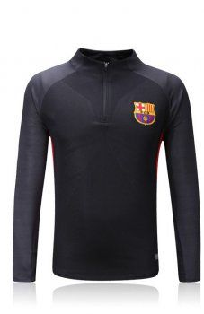 FC Barcelona 2017-18 Season FCB Black Training Uniform [K791]