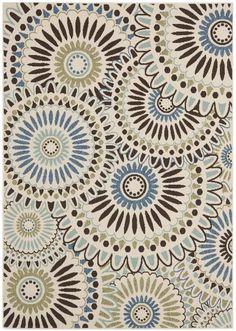 Safavieh Veranda VER091-0612 Cream and Blue