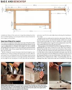 Heavy Duty Workbench Plans - Workshop Solutions Projects, Tips and Tricks - Woodwork, Woodworking, Woodworking Plans, Woodworking Projects Workbench Plans, Woodworking Plans, Woodworking Projects, Benches, Shoe Rack, Wood Working, Workshop, Garage, Tools
