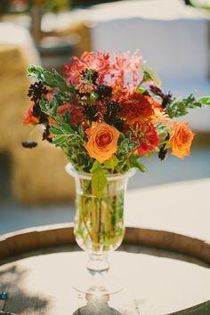 Embrayage Déclaration - Bouquet D'orange Par Vida Vida aZMAPif