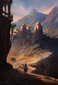 ArtStation - castle, Sina Abbasnia