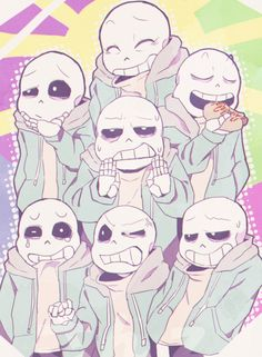 All Sans, All The Time