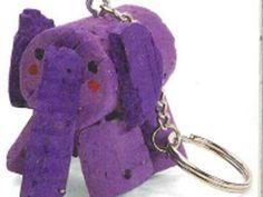 Lavoretti: Elefantino portachiavi