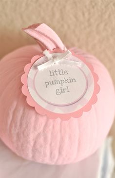 Pintable Party Package - Little Pumpkin Girl