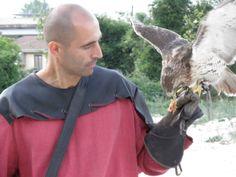 l'arte della falconeneria all'aquila, con Antonello Dundee