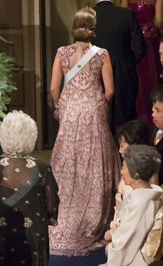 Princess Madeleine of Sweden at the 2014 Nobel Prize Ceremony in Stockholm on December 10, 2014 #fadielkoury