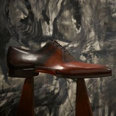 Our newest opanka, the Matthew available at http://www.magnanni.com/shop/matthew-cognac-brown #Magnanni #MensShoes #MensWear #fashion #style #MadeInSpain