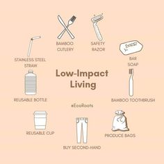 Low waste diy Inspirational pic for a low-impact living Living a low-waste lifestyle involves adopting a more thoughtful minimalistic approach to living and a lot of inspiration. Do your best big change starts with one small decision.