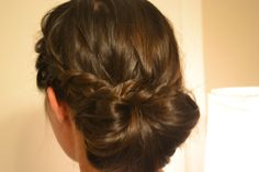This Pretty Updo Was Designed By Tami With Large Barrel
