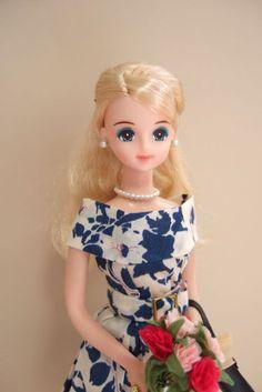 Jenny and I: ワンピース(ブルー)Blue Dress   ジェニー
