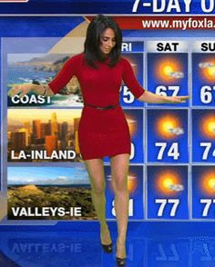 Top 15 Hot Mexican Weather Girl | A Listly List  |Mexican Weather Girls Dancing