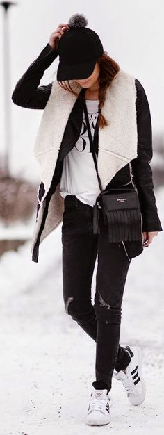 Street style | Chic sporty outfit