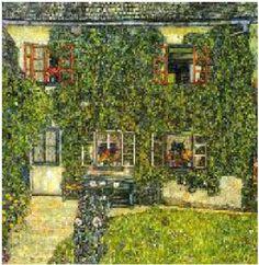La casa del guardabosque ( Gustav Klimt ) 1914 óleo sobre lienzo