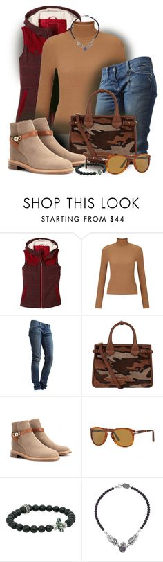 """""""Combat Style"""" by kathy-martenson-sanko ❤ liked on Polyvore featuring prAna, Miss Selfridge, Rich & Royal, Burberry, Chloé, Persol, King Baby Studio, women's clothing, women's fashion and women"""