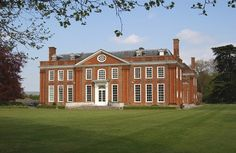 Bradbourne House, East Malling, Kent - The stunning building that stands today, has seen many changes over the centuries since it was originally built in Tudor times, not least when it was extended & altered in the early 18th century to become the Queen Anne Manor House you see today. Sir Thomas Twisden became the first Bart of Bradbourne when he purchased the estate in the 1650's with the house remaining in the ownership of the Twisden family until 1937.