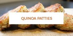 Quinoa Patties I've talked about how my husband and I are moving toward a vegetable-based diet. I loved reading the comments with your own stories! When we first started experimenting with this change two years ago, my husband was committed but skeptical. He braced himself for a long, hungry month. I reassured him that he was in goodKeep Reading