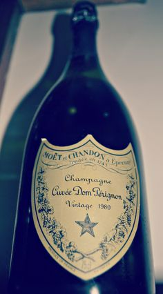 Champagne Don Perignon VINTAGE 1980 From my Bar