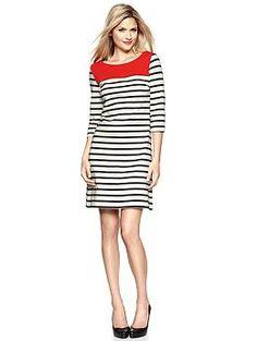 #stripes #dress #colorblock #gap #thegap