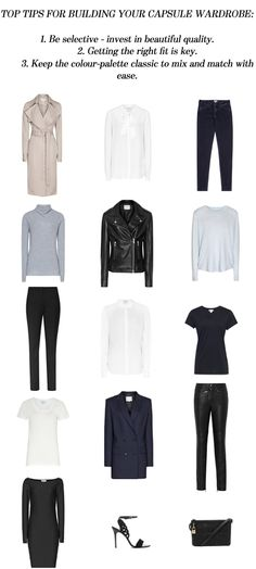 TOP TIPS: How to build the perfect capsule wardrobe