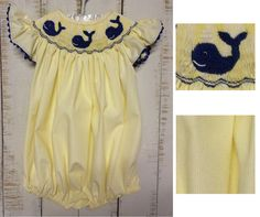 Whale Bubble $29.99 FREE SHIPPING at facebook.com/SmockStars OR Instagram Smock Stars