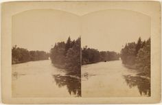 [View of Port Jervis, N.Y. or Dingman's Ferry, Pike Co. Pa.]; W.H. Allerton; about 1865 - 1875; Albumen silver; 84.XC.979.866; Gift of Weston J. and Mary M. Naef
