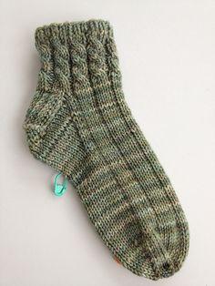 Ravelry: Entwined House Socks for Ladies pattern by Margaret MacInnis