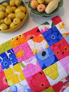 blimunda quilts: The Marimekko Quilt