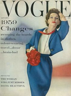 1959 changes sweeping the boards in clothes, colour-wearing, travel...decor...brain fuel!