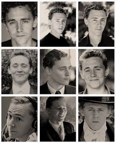 Young hiddles characters #Tom Hiddleston