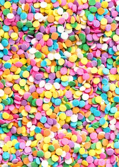 Pastel confetti sprinkles sold at Sweetapolita.