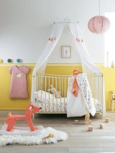 Baby Comfort Drap de berceau en coton 120 x 60 cm mod/èle 2