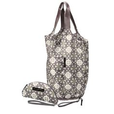 $44 Petunia Pickle Bottom Misted Marseille Faraway Fold-out Tote