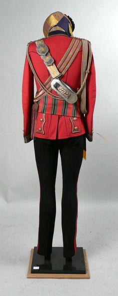 British Dress Officer's Bengal Lancer Uniform, Indian, Circa 19th cent