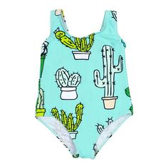 Little Cactus Swimsuit – BATOKO