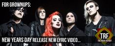 Watch: NEW YEARS DAY release DEATH OF THE PARTY lyric video...