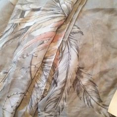 H & M scarf Polyester scarf.  Dream catcher print. New! H&M Accessories Scarves & Wraps