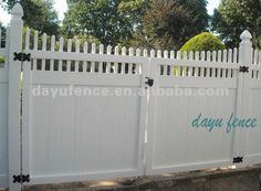 VINYL FENCE GATE | FENCES